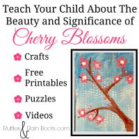 Cherry Blossoms Spring Craft (and Learning Resource)