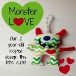 Some Monsters are Different, monster plush, monster softie, monster doll tutorial