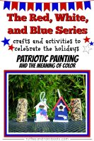 Red, White and Blue Series: Patriotic Craft Birdhouse