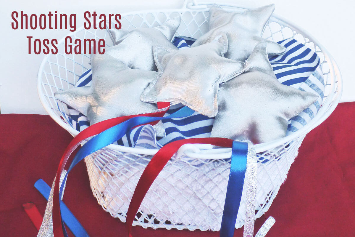 shooting stars toss game backyard game