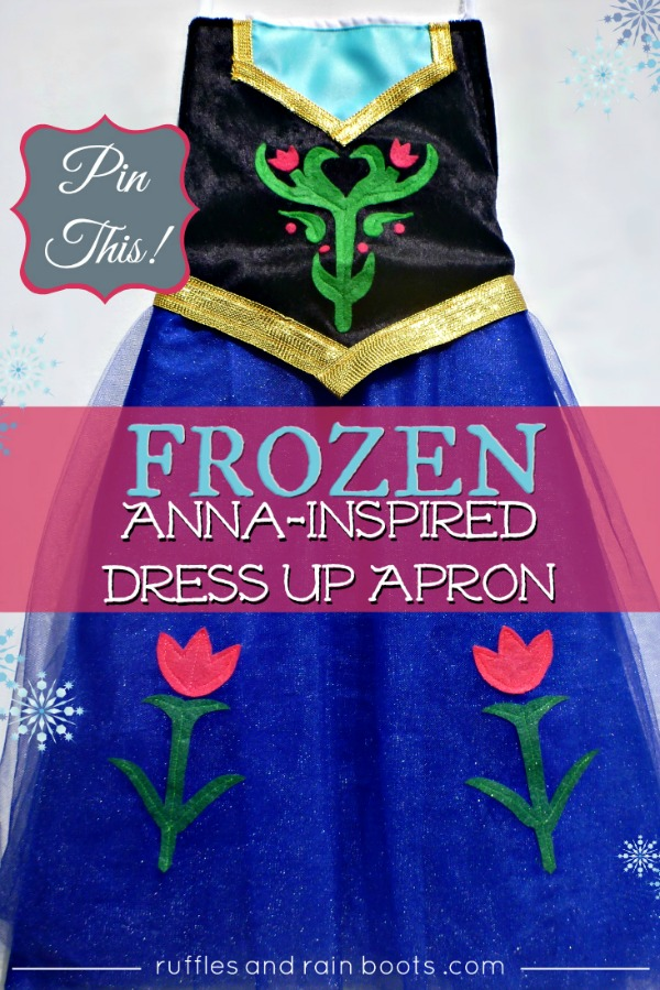 Princess Anna Dress Up Tutorial