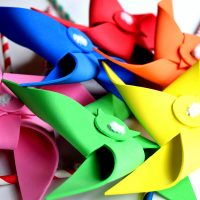 Toddler Safe Pinwheel Tutorial
