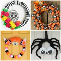 Halloween Party Wreath Ideas