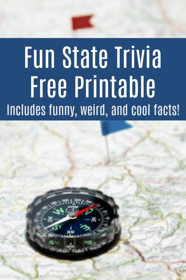 Get this fun state trivia road trip game and take the fun and learning on the road. 50 facts about the United States - weird, fun, and interesting, the kids love this set! #travel #familytravel #roadtrip #travelgames #triviaforkids #rufflesandrainboots