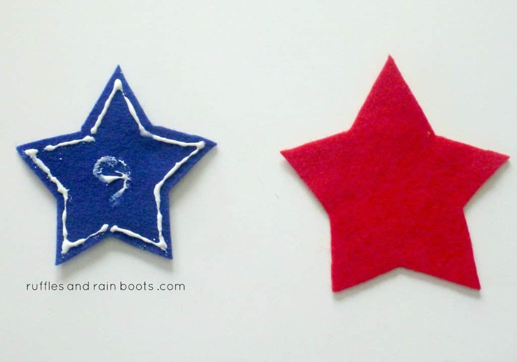 star wand DIY toddler and kids crafts Independence Day 4th of July