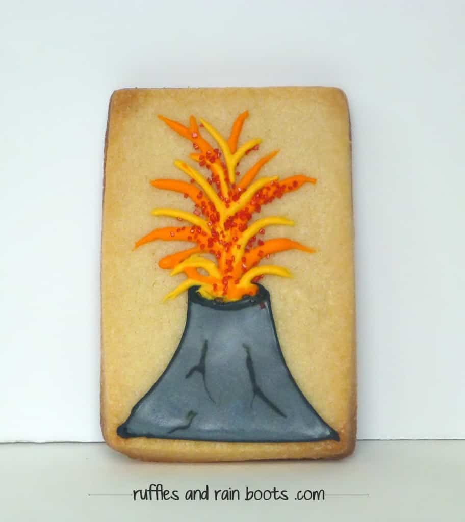 volcano-decorated-sugar-cookie