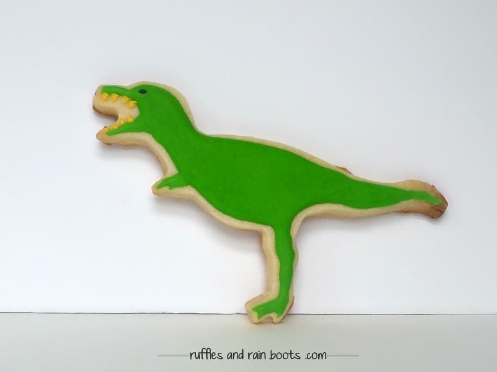 decorated-t-rex-cookies