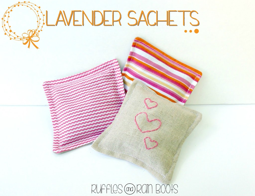 Lavender Sachets Tutorial by Ruffles and Rain Boots