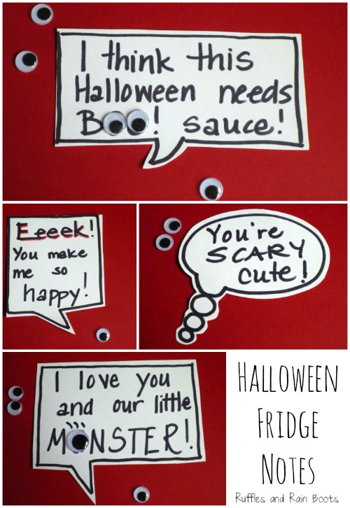 Halloween Decorations Ideas by Ruffles and Rain Boots