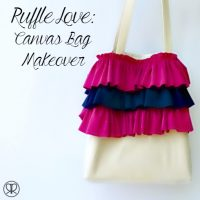 Canvas Bag Makeover