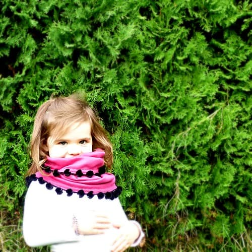Frozen Anna Scarf by Ruffles and Rain Boots