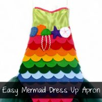 Rainbow Mermaid Tutorial by Ruffles and Rain Boots
