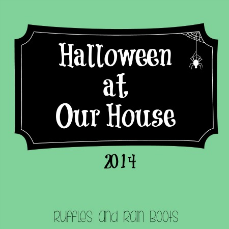 Halloween at Our House 2014