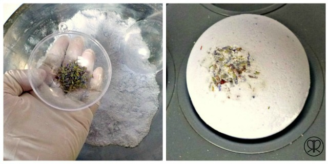 How to Make Bath Bombs with Lavender flowers