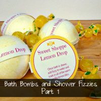 Lemon Drop Bath Bombs