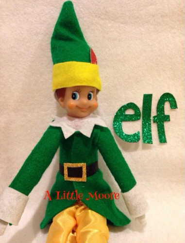 Christmas Elf On the Shelf _ Moore Blog