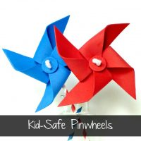 Kid Safe Pinwheels