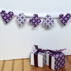 Favor Box Bunting Square