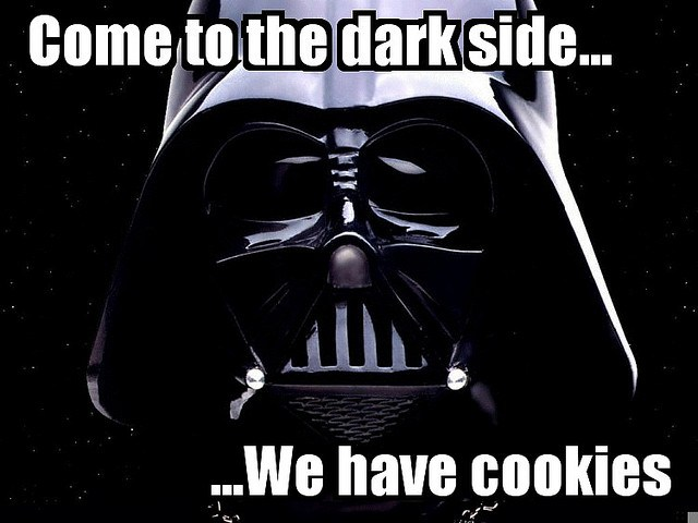 Darth Cookies