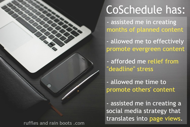 Benefits of CoSchedule