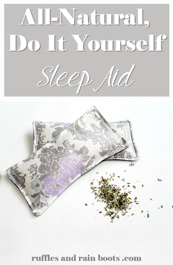 All Natural DIY Sleep Aid