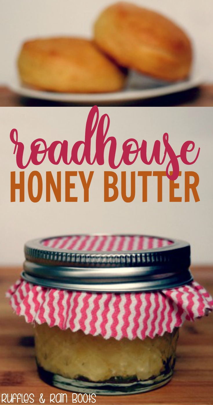 Roadhouse Honey Butter Recipe #honey #honeybutter #spreads #butterrecipe