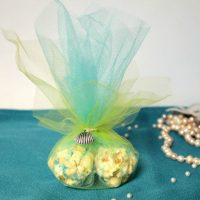 Mermaid Party Popcorn Favors
