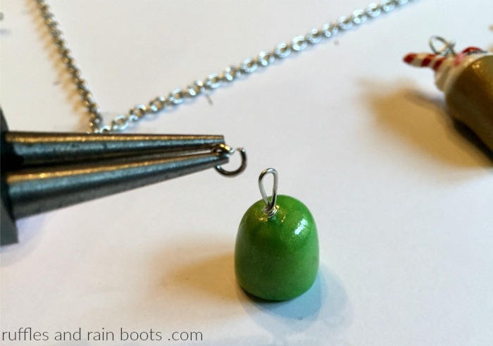 DIY Charm Necklace Tutorial