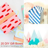 20 DIY Gift Box Ideas for Small or Handmade Gifts