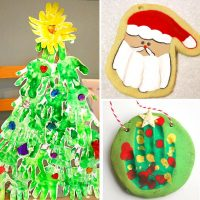 55 Adorable Handprint Christmas Crafts