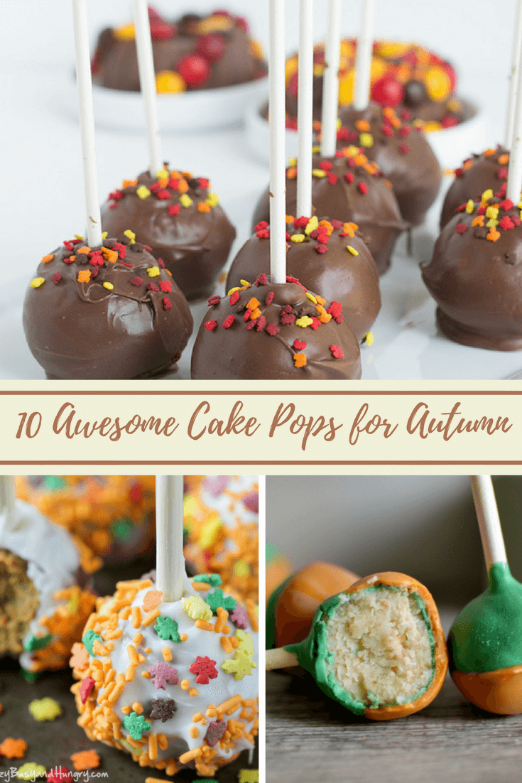 Easy Fall Cake Pops for Thanksgiving and Holiday Get Togethers