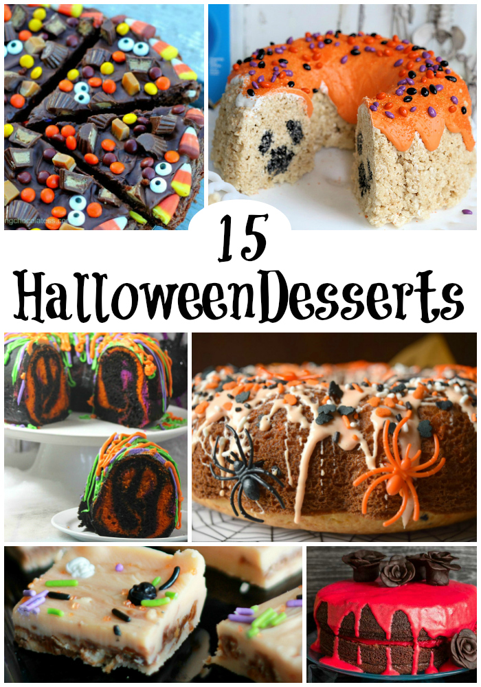 Here are 15 easy Halloween desserts to WOW your spooky socks off!