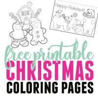Free Christmas Printable Pack – It's Pretty Amazing!
