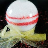 Christmas Bath Salts in an Adorable Ornament for Gifting