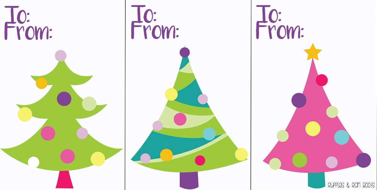 picture about Printable Christmas Tag named Totally free Printable Xmas Reward Tags - Enjoyment Trip Printables