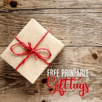 Free Christmas Gift Tags – Fun Holiday Printables