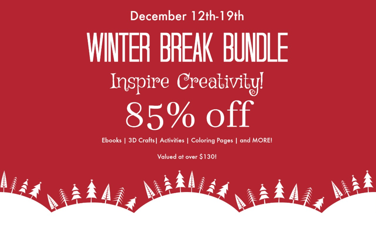 Crafty Kids Bundle - The Winter Break Crafty Kids Bundle