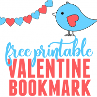 Free Printable Valentine Bookmark