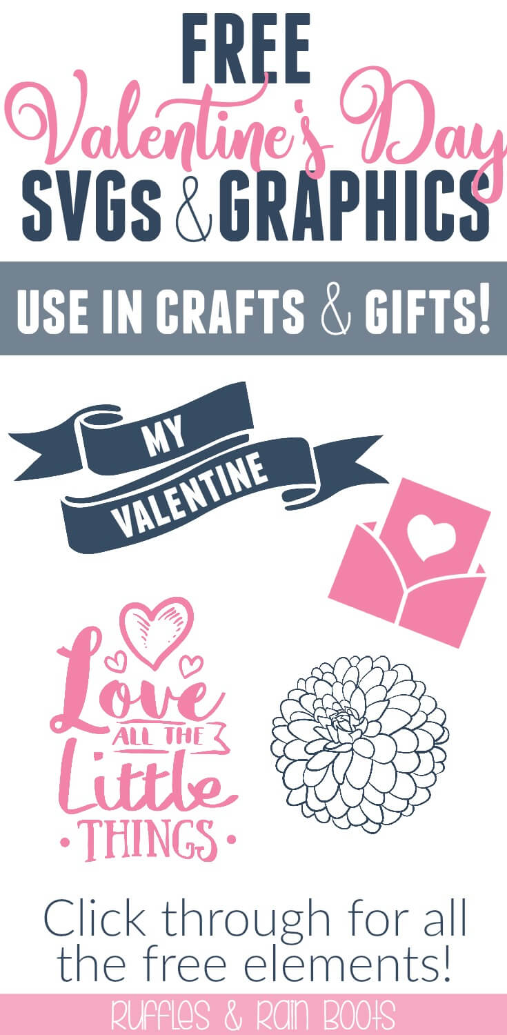 Get these free Valentine's Day SVG cut files and graphics for all crafting! #valentinesday #freevalentine #freesvg #valentineprintable #valentinefont #valentinegraphics #valentinesvg #freevalentinesvg
