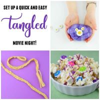 Tangled Movie Night