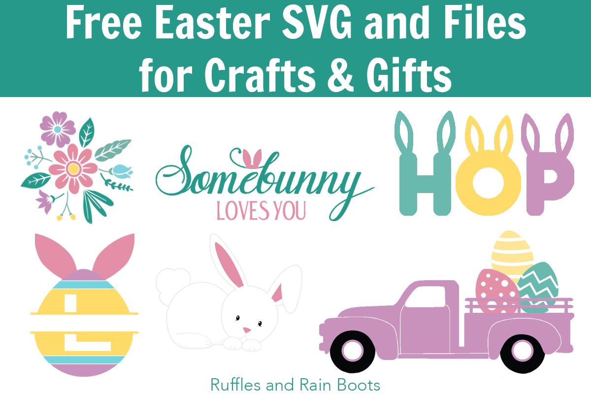 Free Easter SVG and Graphics for Crafts and Gifts