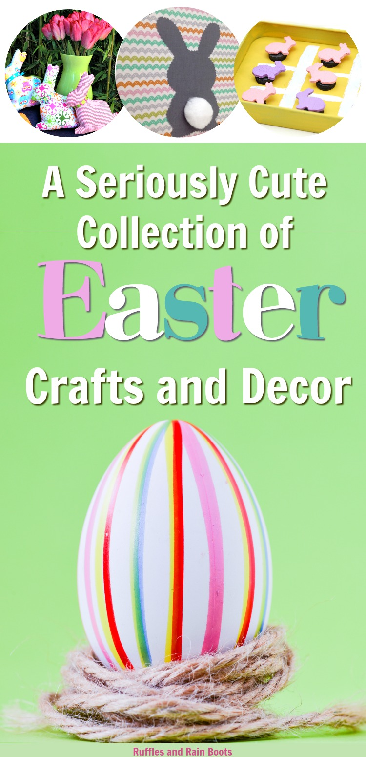 Cute Collection of Easter Crafts and Decor to Inspire Creativity _ Food Crafts Decor and Games