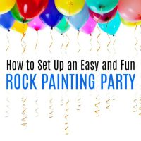 How to Set Up the Best Rock Painting Party for Kids