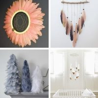 Make These Stunning Painted Feather Projects for the Home