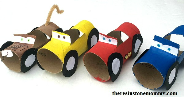 Cars Disney Movie Night Craft