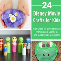 24 Disney Movie Crafts – Great for Family Movie Nights!