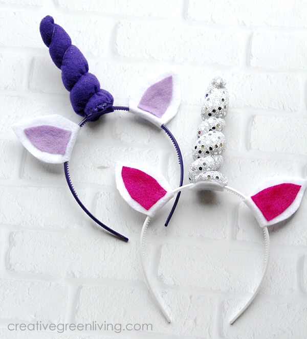 how to make a unicorn headband a fun DIY unicorn craft for party