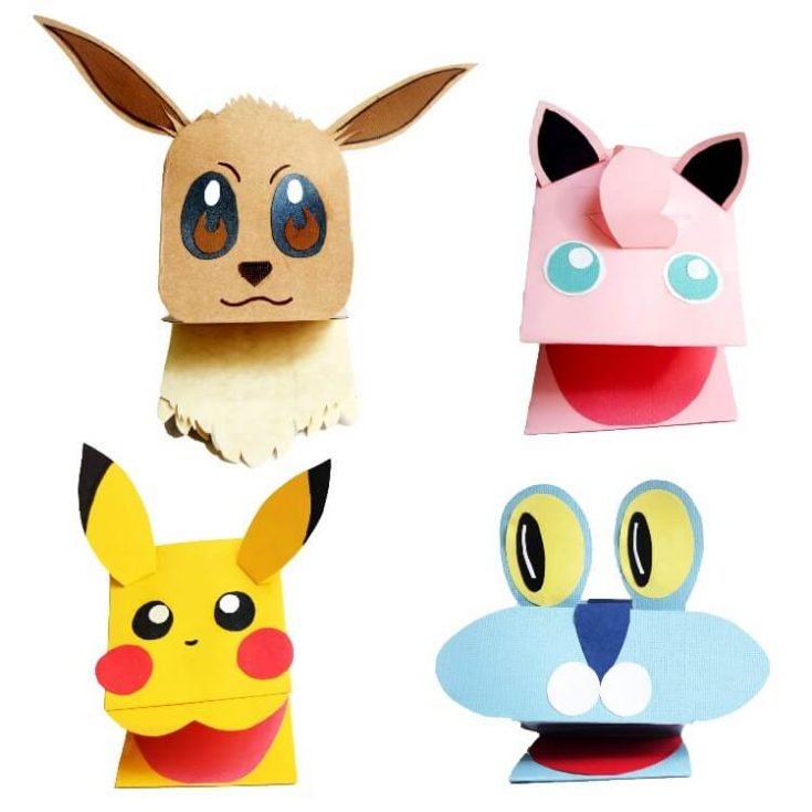 Pokemon Paper Puppets Tutorial