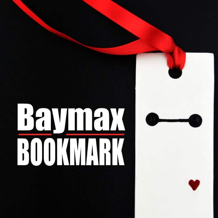 An Easy (and Awesome) Baymax Bookmark Polymer Clay Tutorial