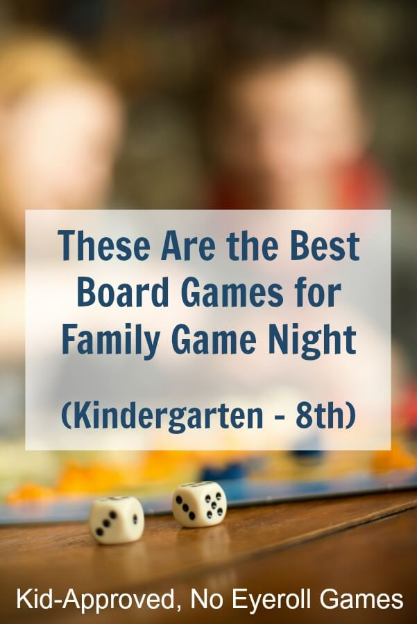 Board games for elementary kids